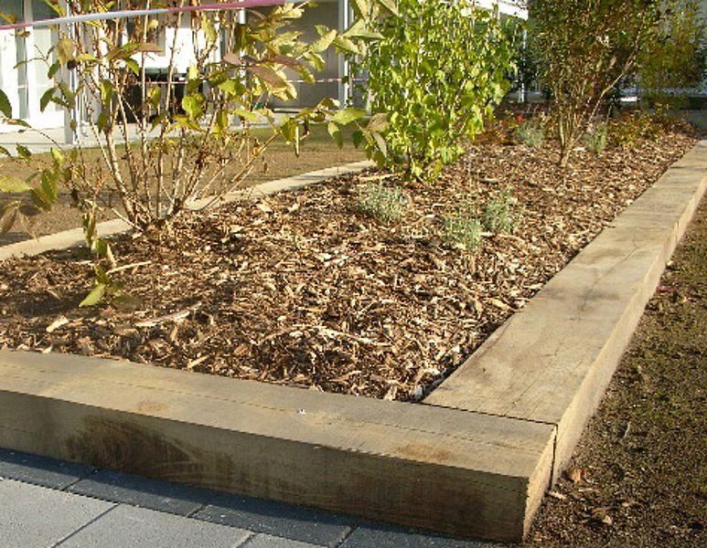 Exemples d\'usages | les traverses de jardin